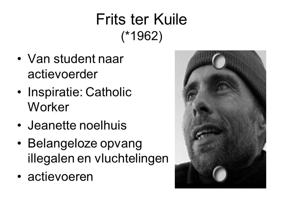 Frits ter Kuile (*1962) Van student naar actievoerder