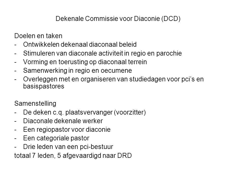 Dekenale Commissie voor Diaconie (DCD)