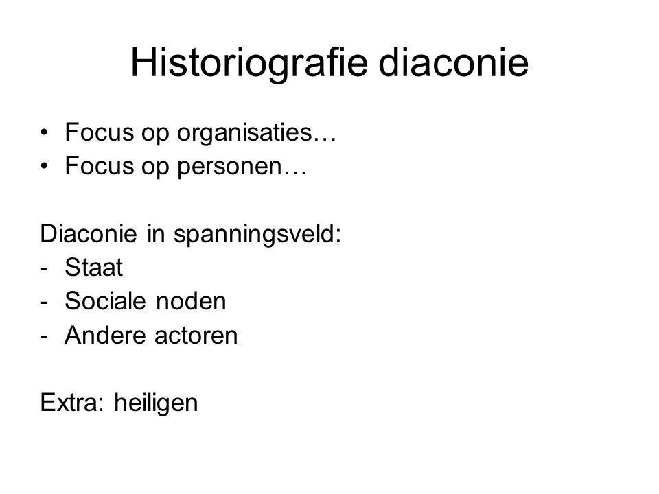 Historiografie diaconie