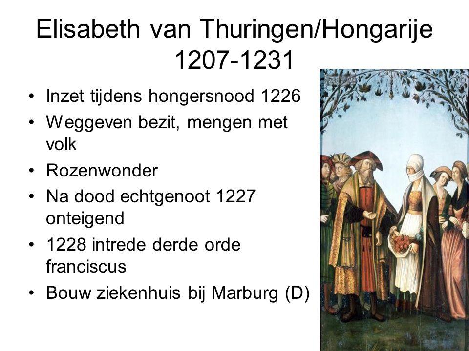 Elisabeth van Thuringen/Hongarije 1207-1231