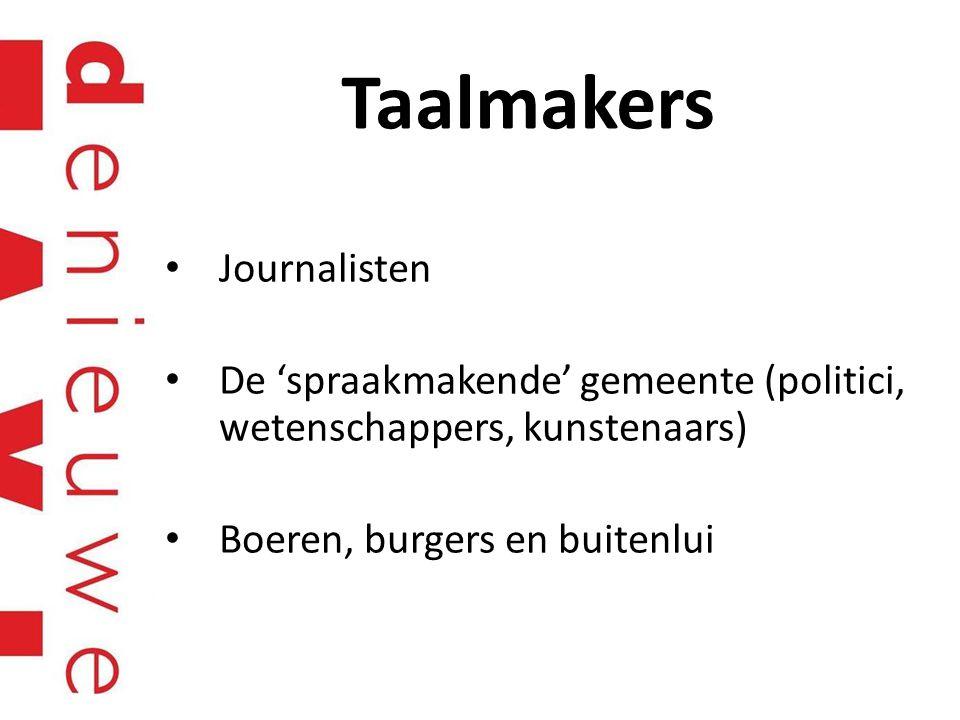 Taalmakers Journalisten