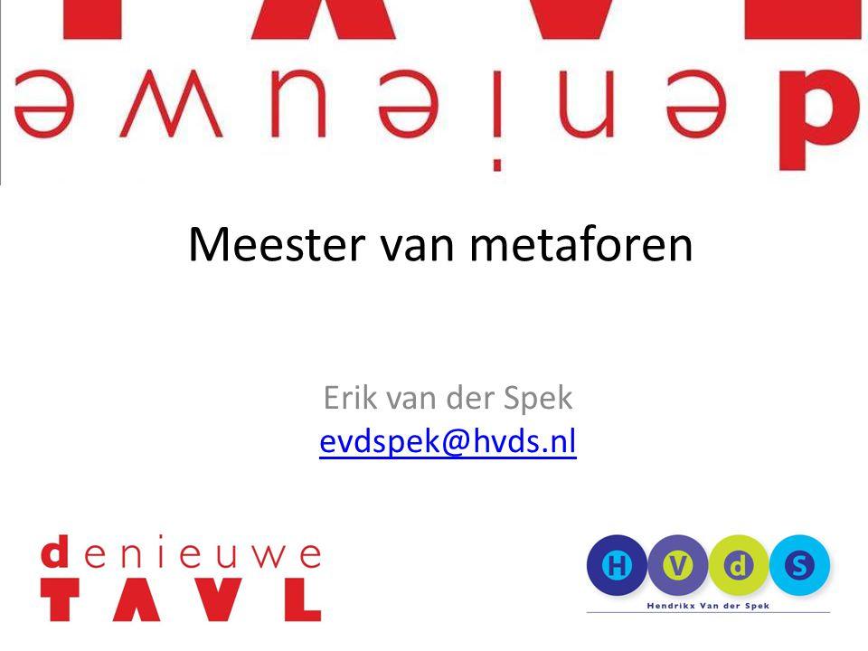 Erik van der Spek evdspek@hvds.nl