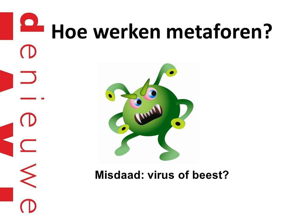 Misdaad: virus of beest