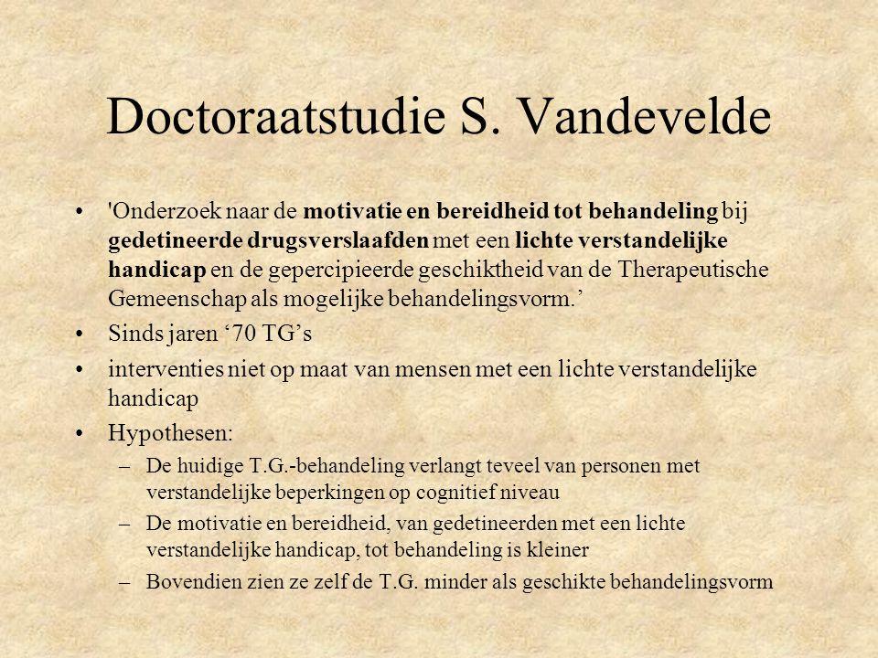 Doctoraatstudie S. Vandevelde