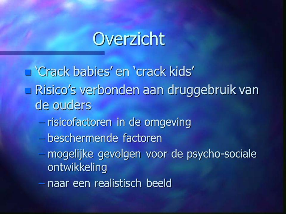 Overzicht 'Crack babies' en 'crack kids'