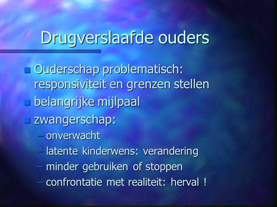 Drugverslaafde ouders