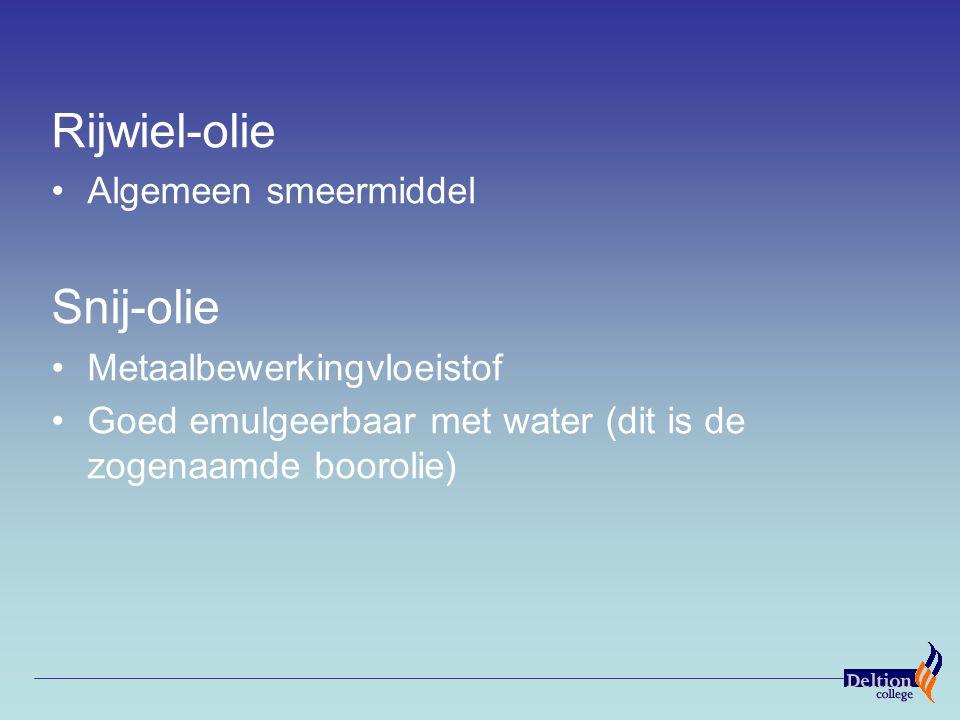 Rijwiel-olie Snij-olie Algemeen smeermiddel Metaalbewerkingvloeistof