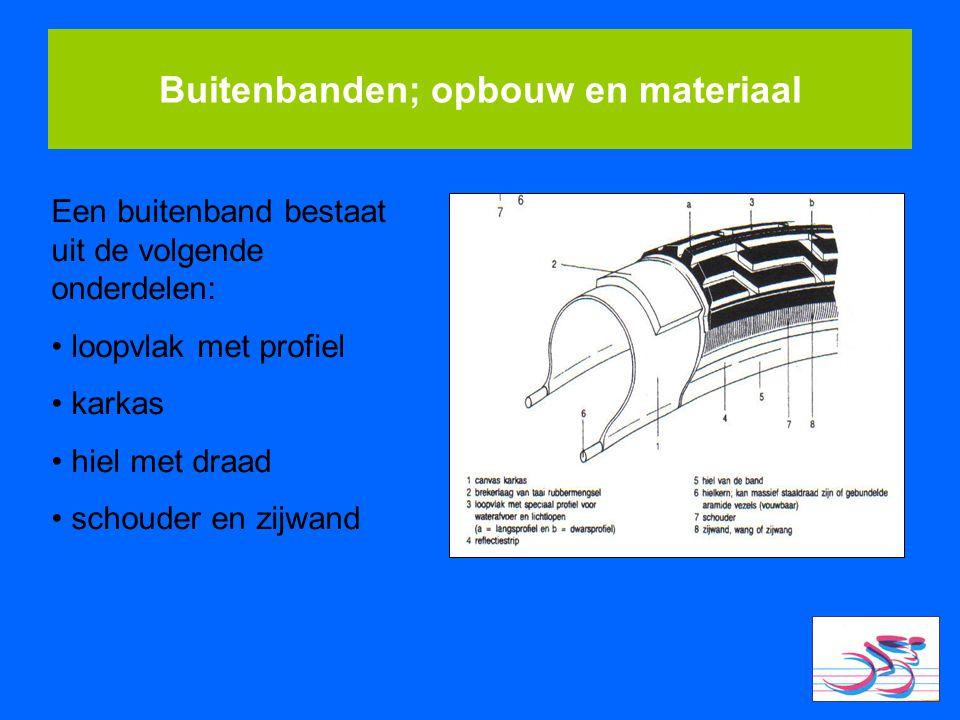 Buitenbanden; opbouw en materiaal