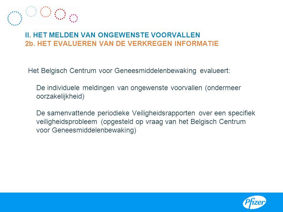 Het Belgisch Centrum voor Geneesmiddelenbewaking evalueert: