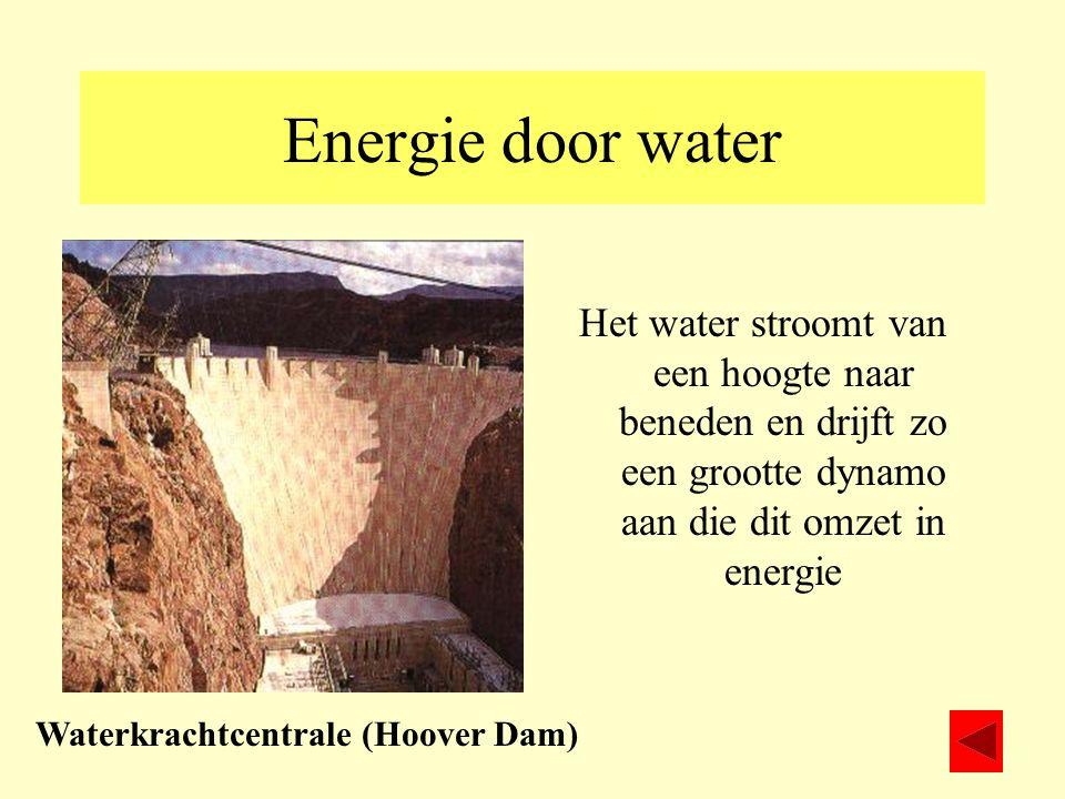 Waterkrachtcentrale (Hoover Dam)