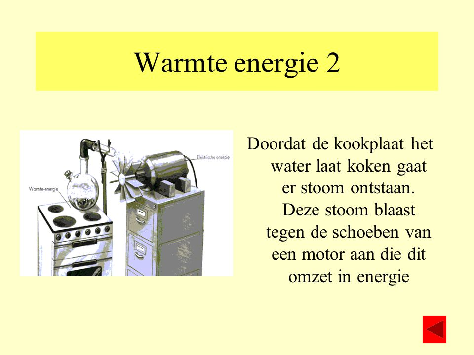 Warmte energie 2