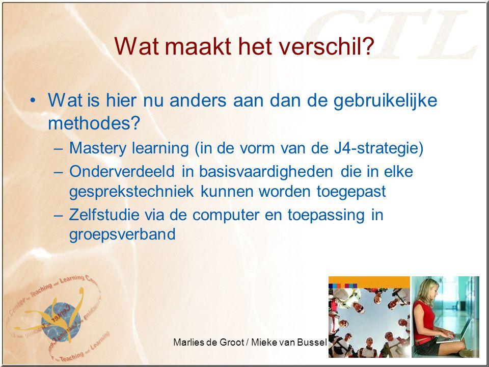 Marlies de Groot / Mieke van Bussel