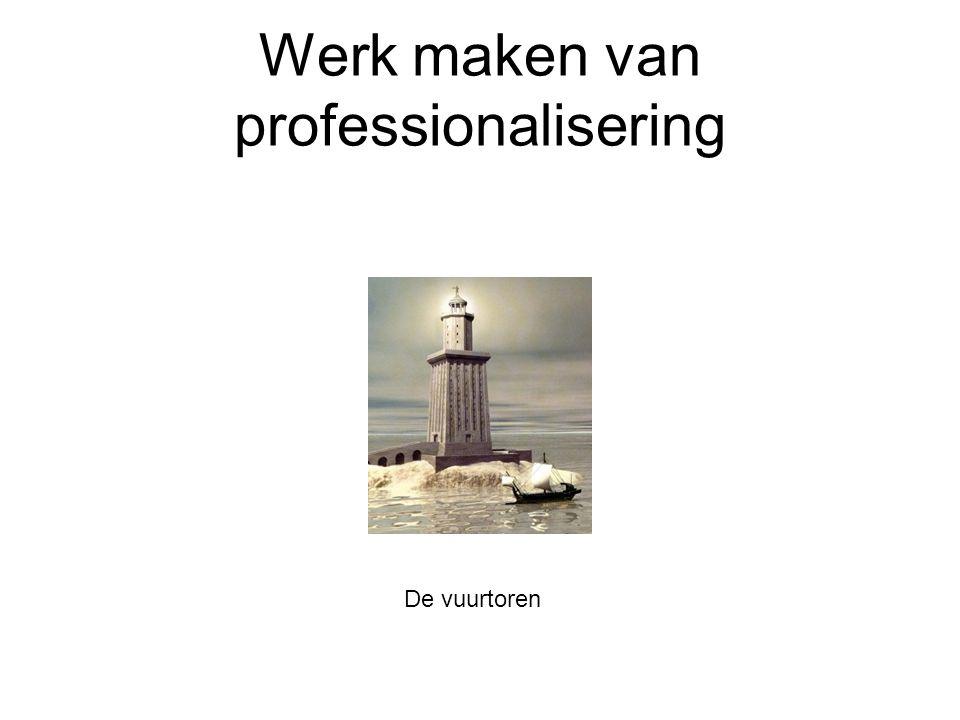 Werk maken van professionalisering