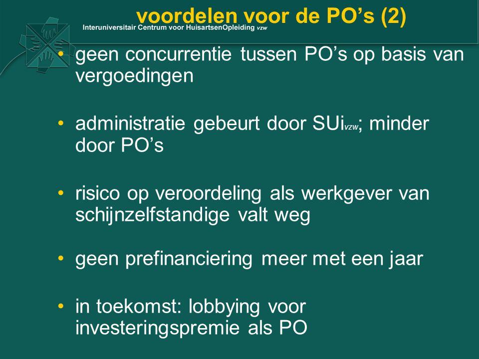 voordelen voor de PO's (2)