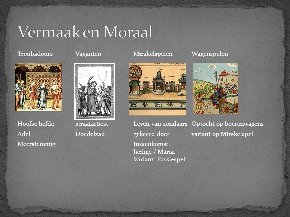 Vermaak en Moraal