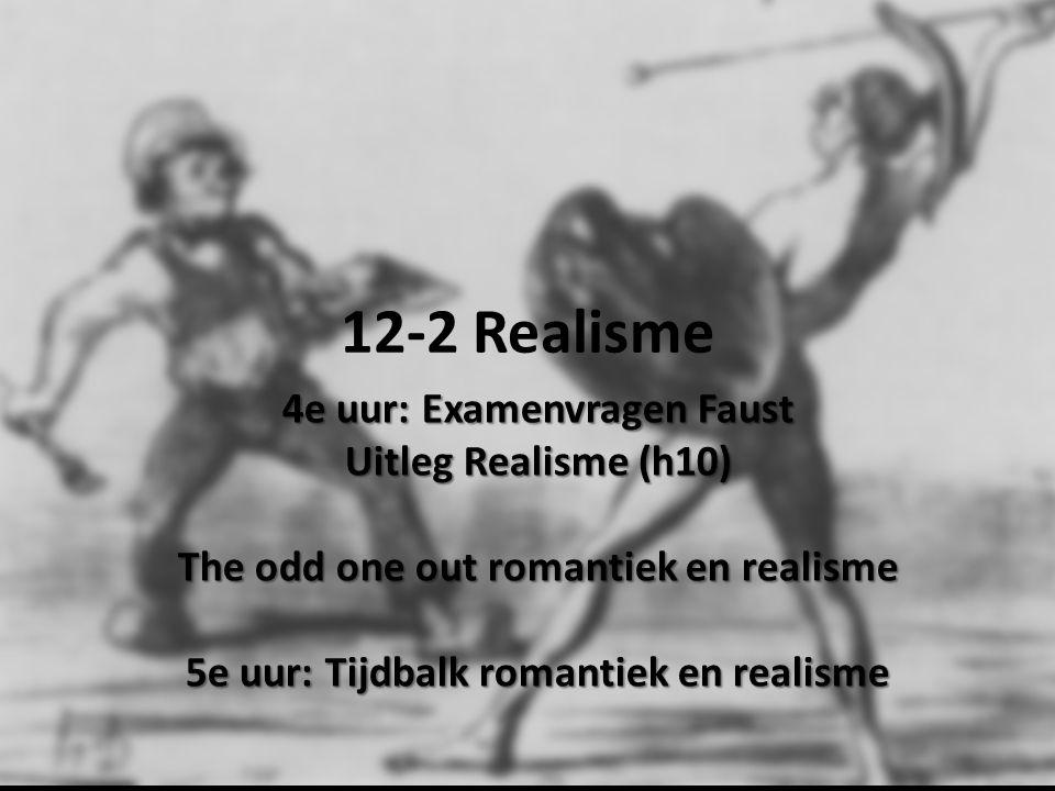12-2 Realisme 4e uur: Examenvragen Faust Uitleg Realisme (h10)