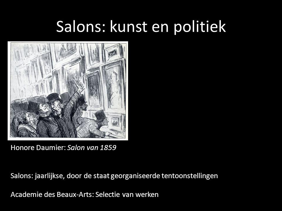 Salons: kunst en politiek