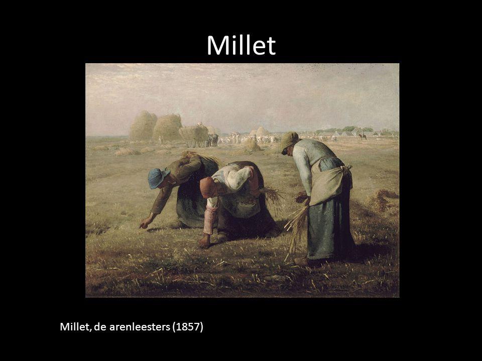 Millet Millet, de arenleesters (1857)