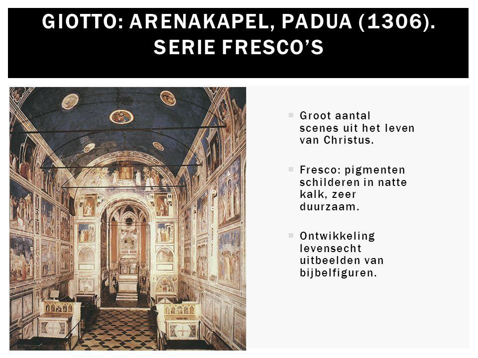 Giotto: Arenakapel, Padua (1306). Serie Fresco's
