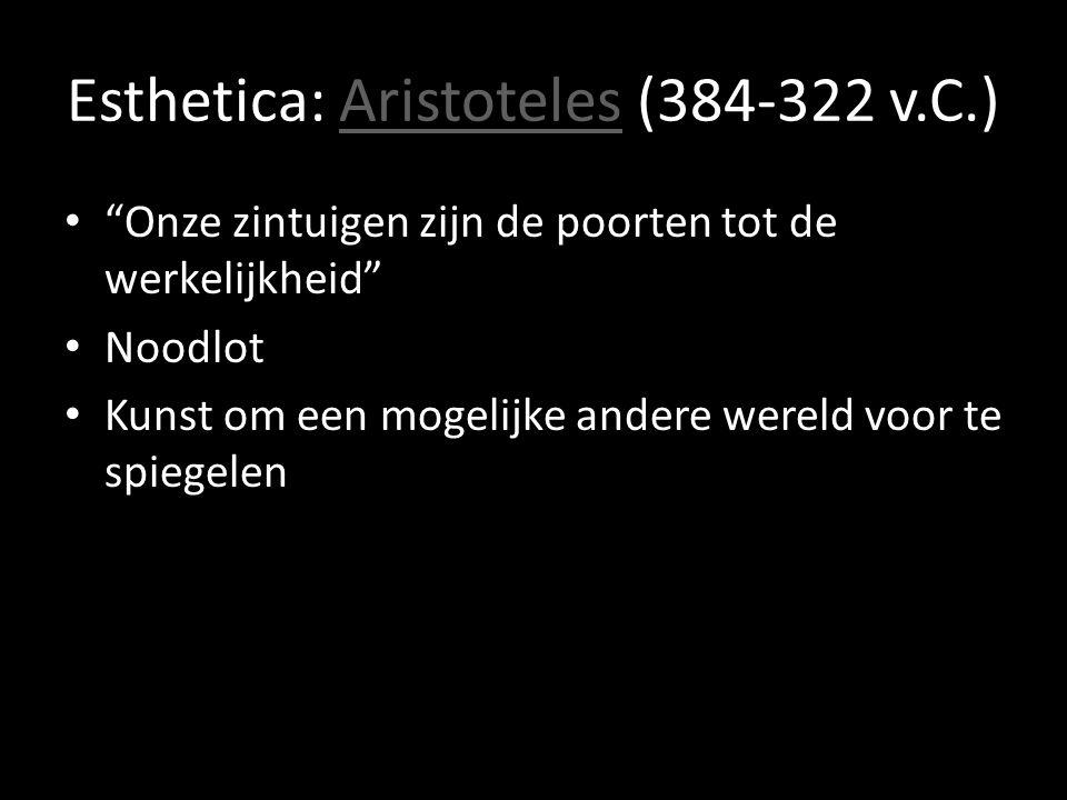 Esthetica: Aristoteles (384-322 v.C.)
