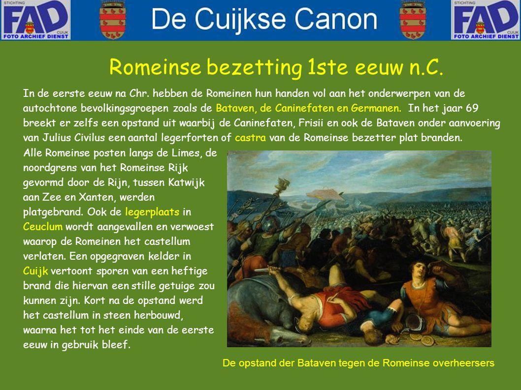 Romeinse bezetting 1ste eeuw n.C.