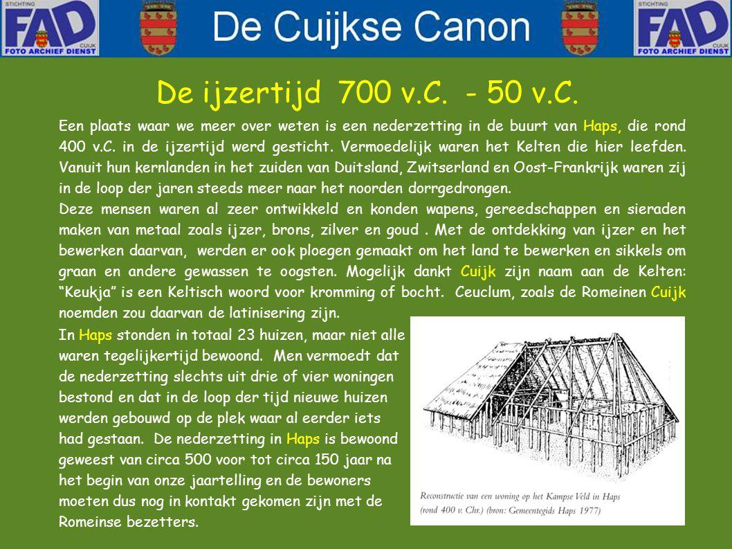De ijzertijd 700 v.C. - 50 v.C.