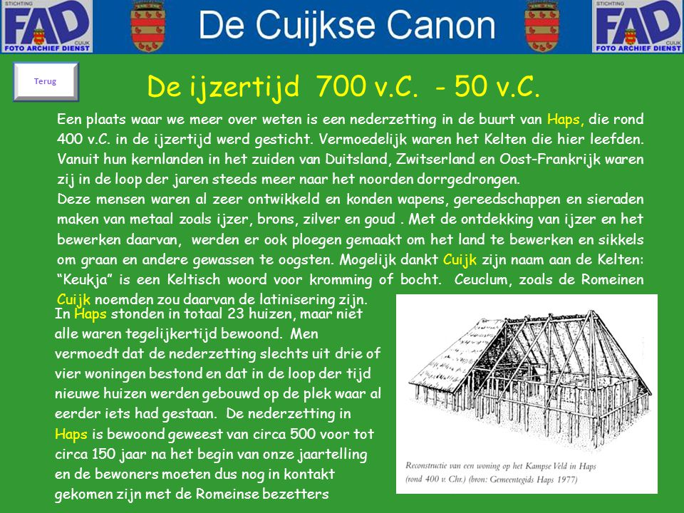 Voorstel voor Cuijks Canon