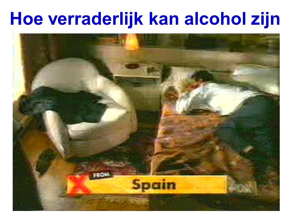Hoe verraderlijk kan alcohol zijn