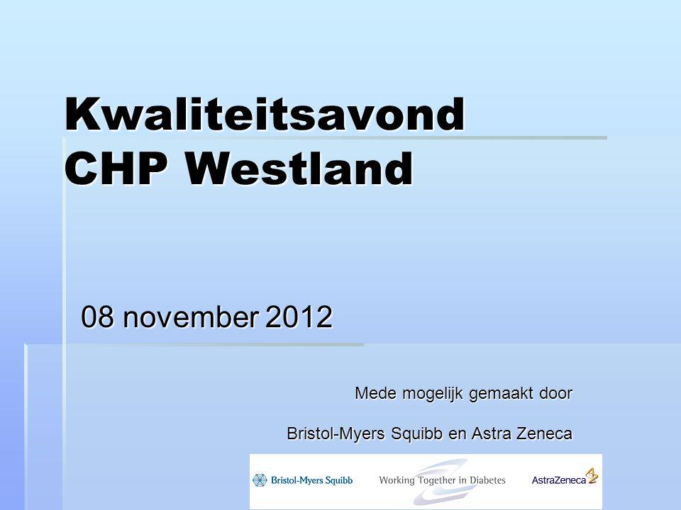 Kwaliteitsavond CHP Westland
