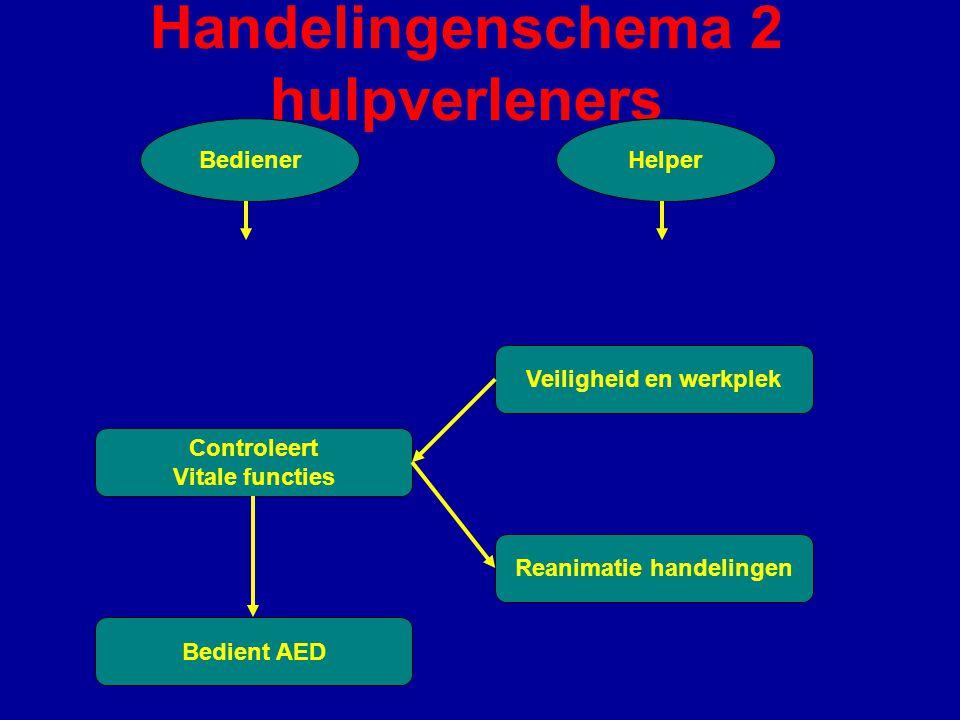Handelingenschema 2 hulpverleners