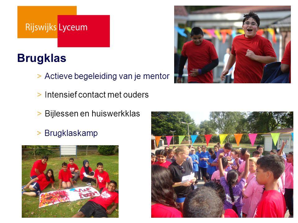 Brugklas > Actieve begeleiding van je mentor
