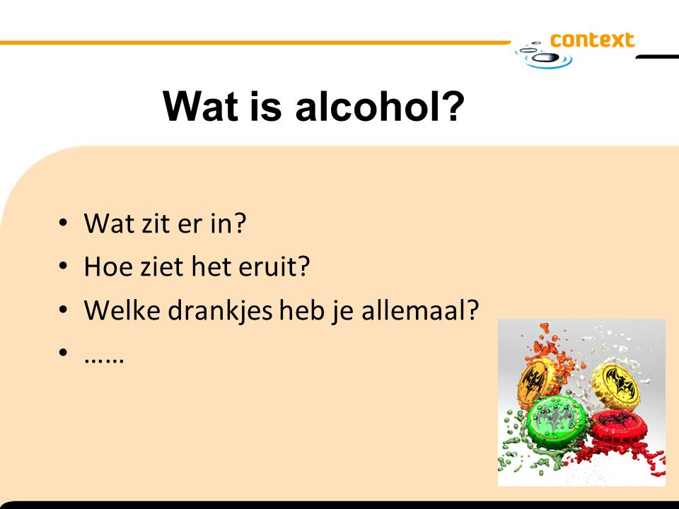 Wat is alcohol Wat zit er in Hoe ziet het eruit