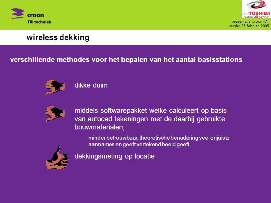 wireless dekking verschillende methodes voor het bepalen van het aantal basisstations. dikke duim.
