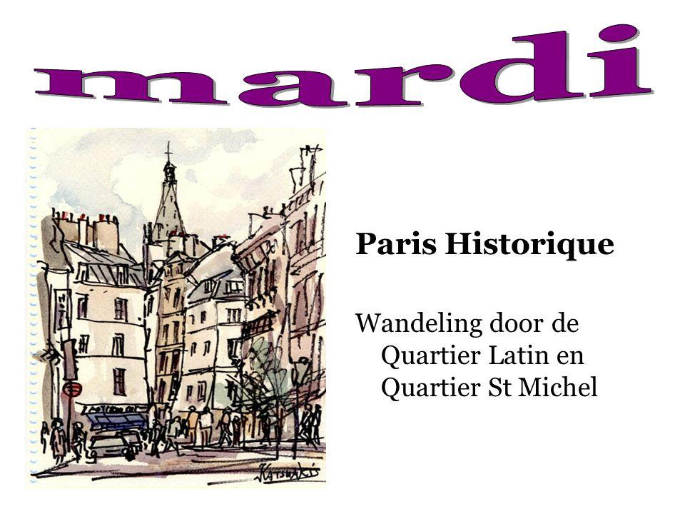 mardi Paris Historique