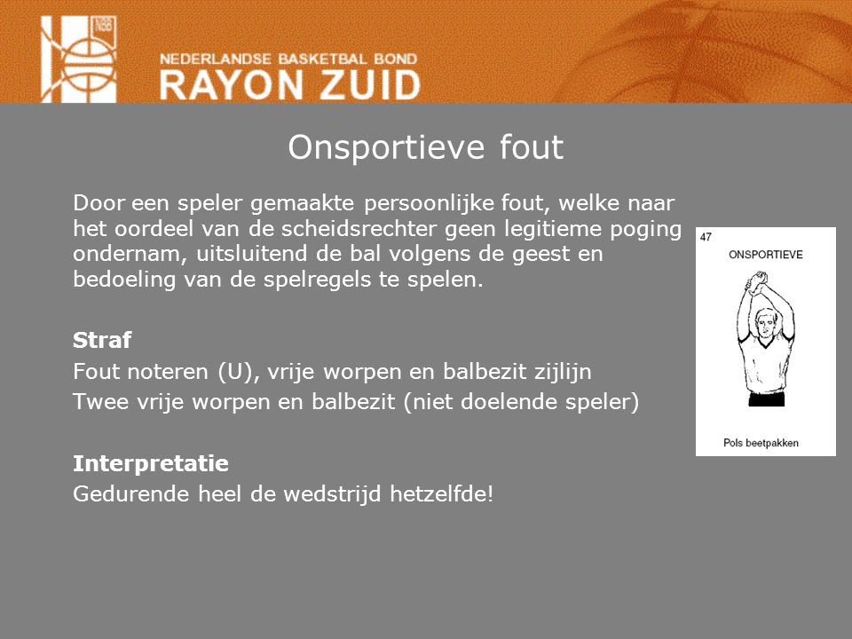 Onsportieve fout