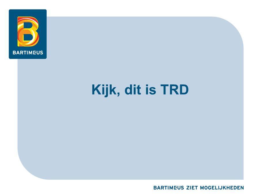 Kijk, dit is TRD