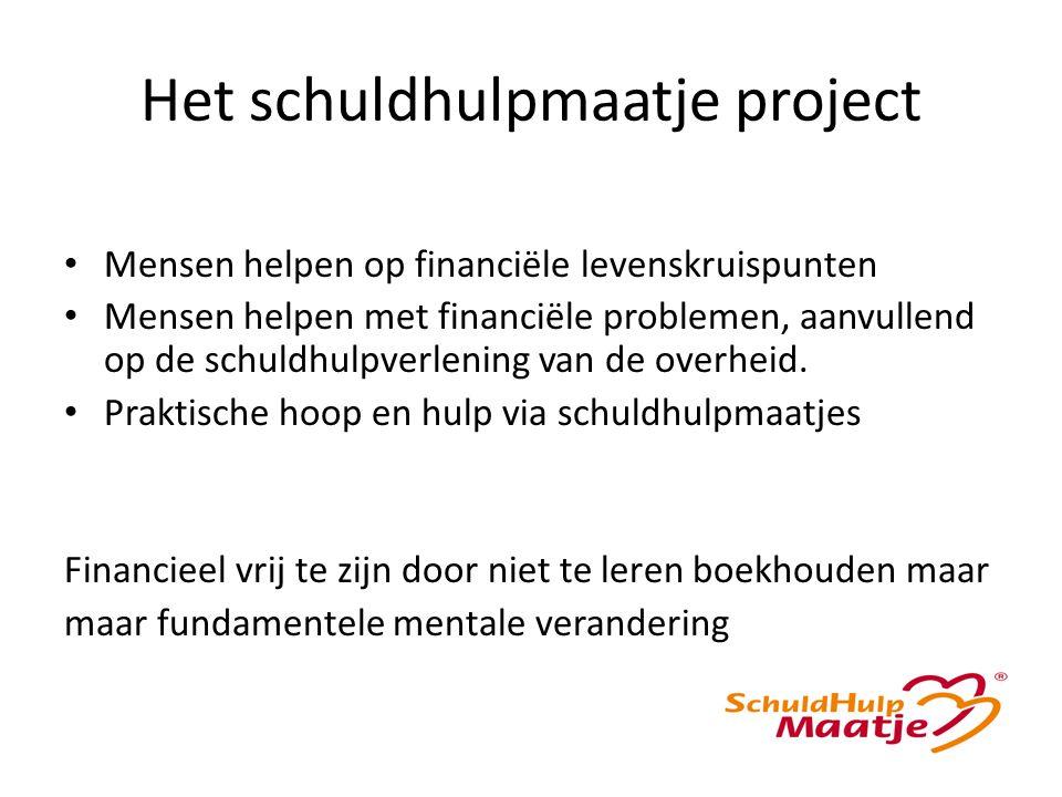 Het schuldhulpmaatje project