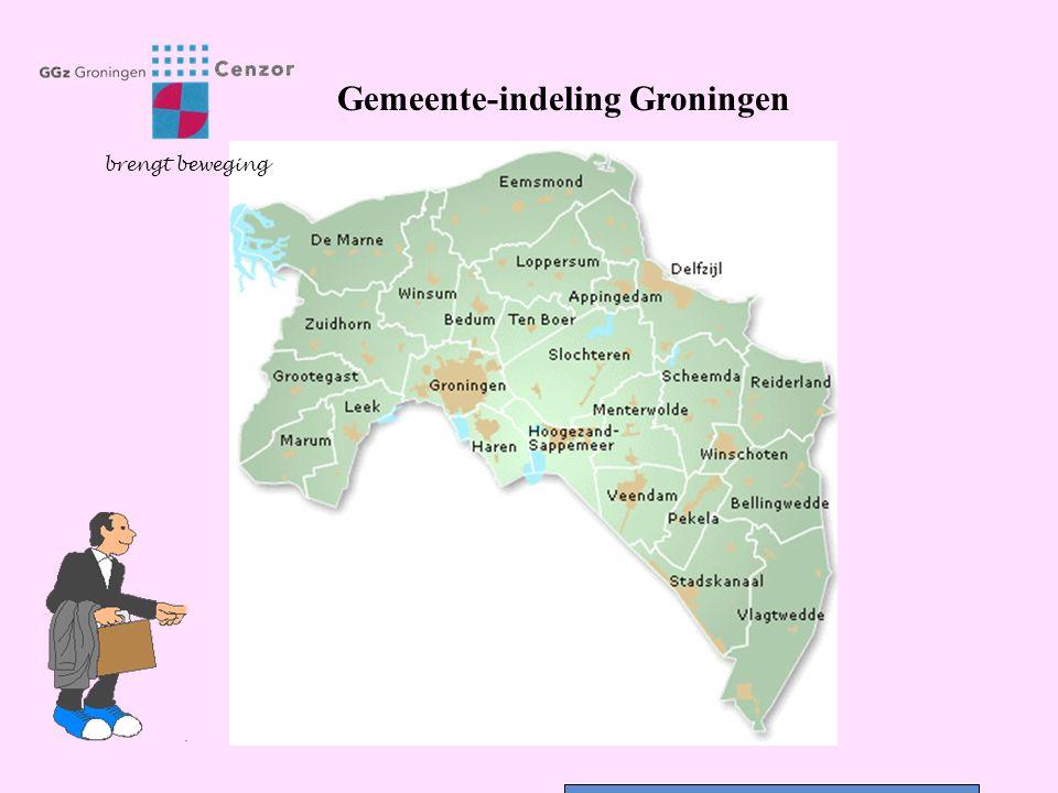 Gemeente-indeling Groningen