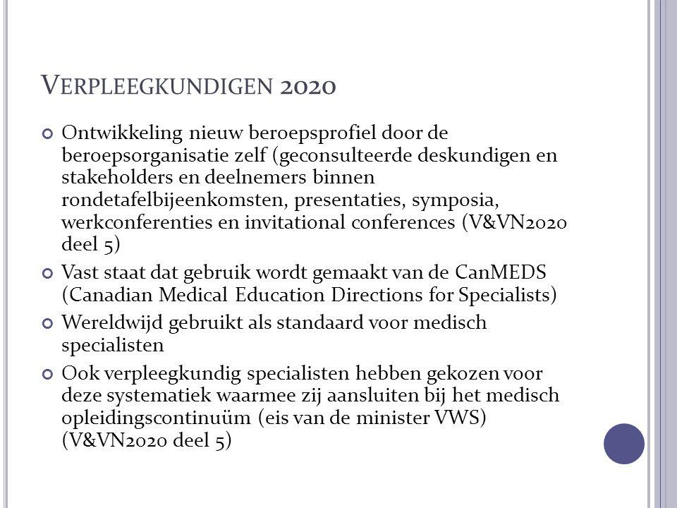 Verpleegkundigen 2020