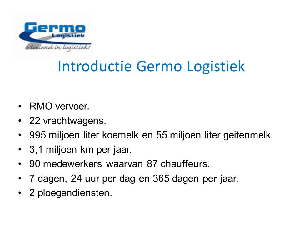 Introductie Germo Logistiek