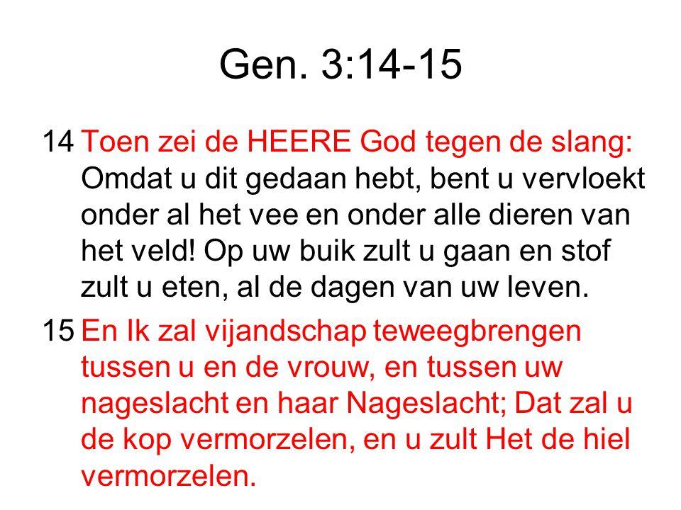 Gen. 3:14-15