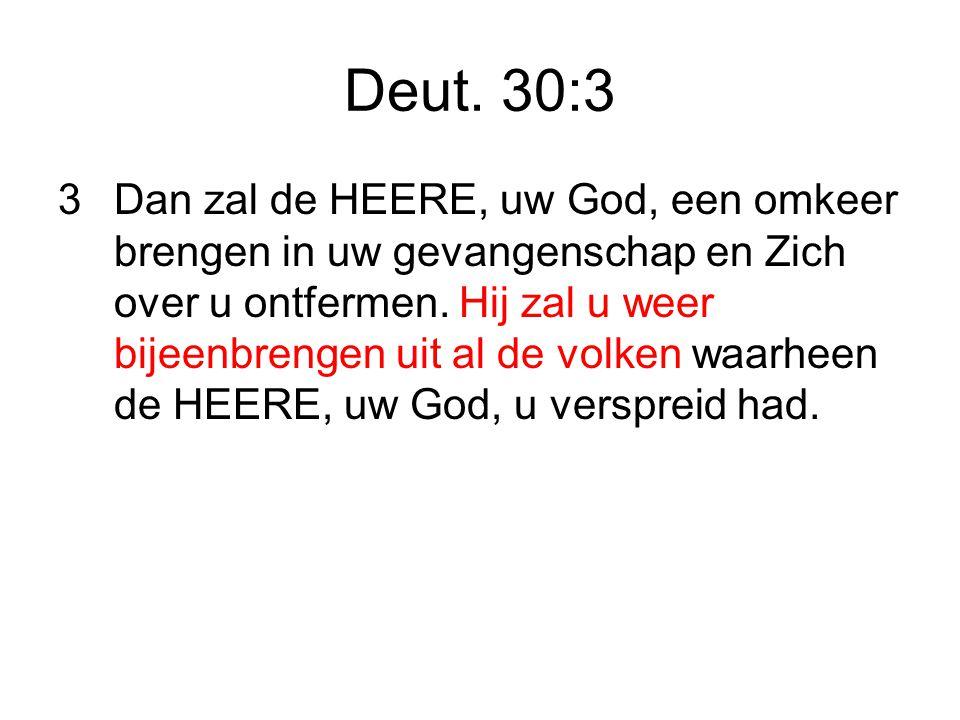 Deut. 30:3