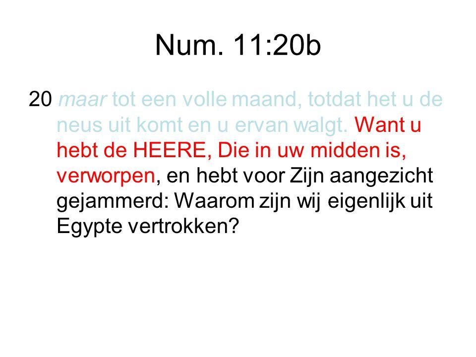 Num. 11:20b