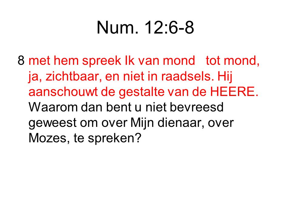 Num. 12:6-8