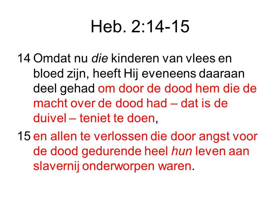 Heb. 2:14-15