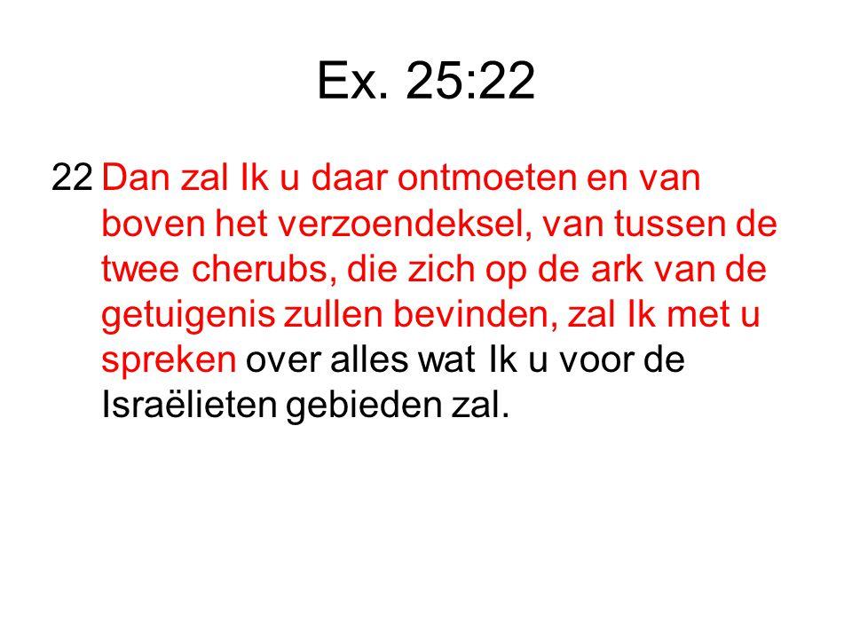Ex. 25:22
