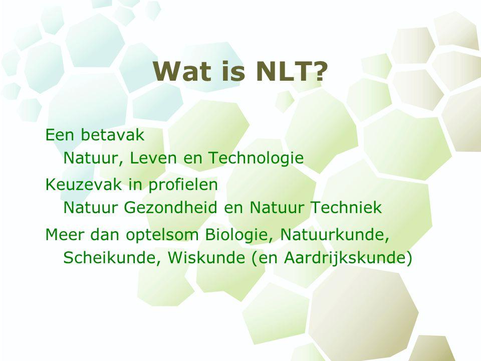 Wat is NLT Een betavak Natuur, Leven en Technologie