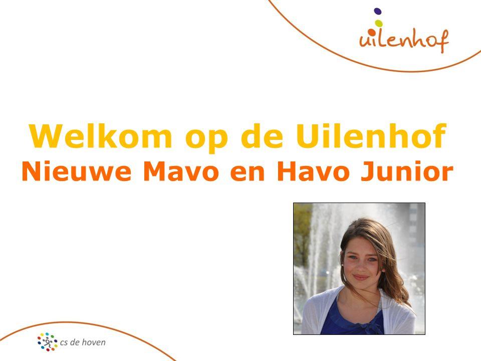 Welkom op de Uilenhof Nieuwe Mavo en Havo Junior