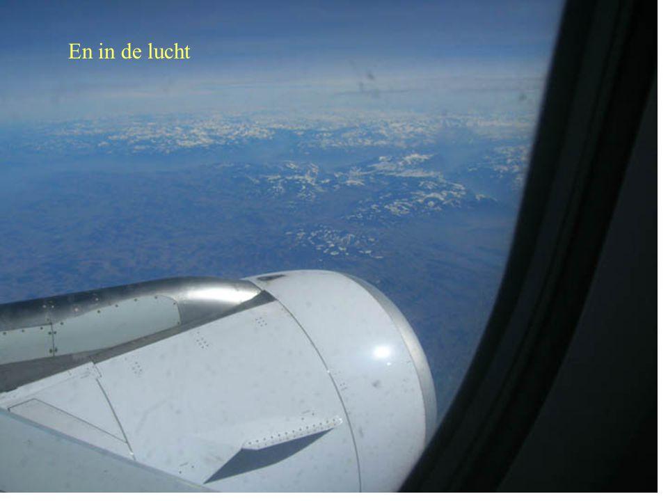 En in de lucht