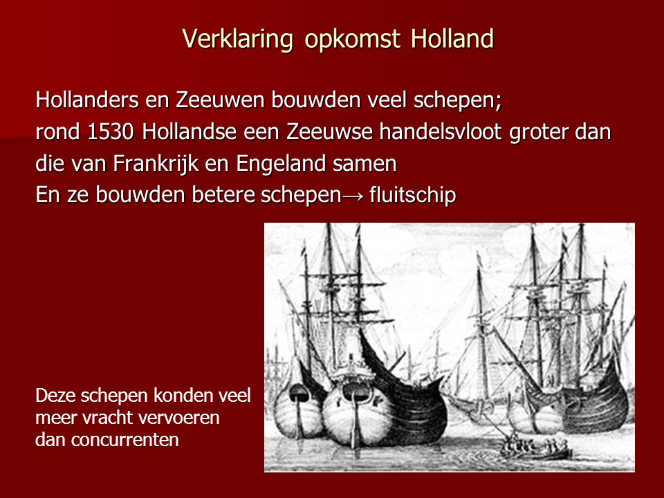 Verklaring opkomst Holland